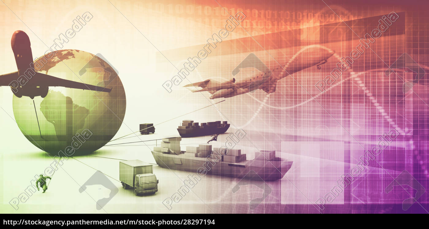 supply, chain, abstract - 28297194
