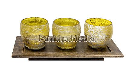yellow candlesticks