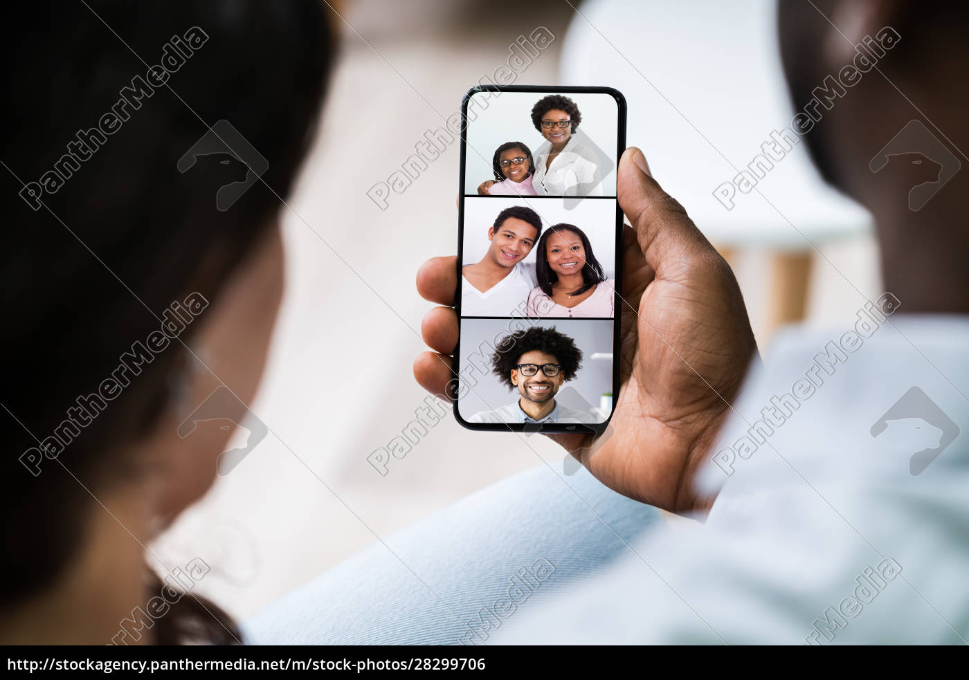 couple, videoconferencing - 28299706