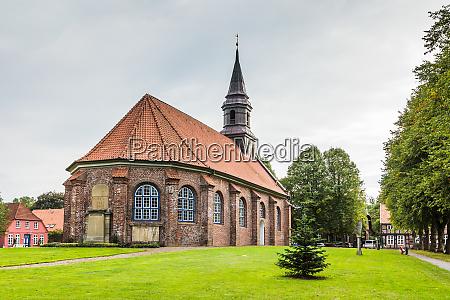 saint james church brunsbuettel schleswig holstein