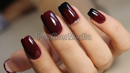 manicure design gradient