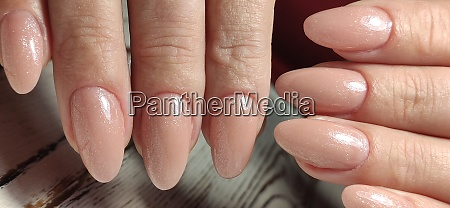 autumn manicure beautyful nails design with