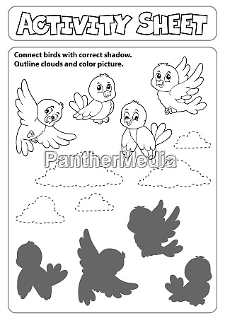 activity sheet topic image 6