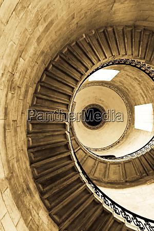 spiral sepia