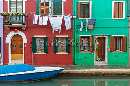 house in burano venice after the