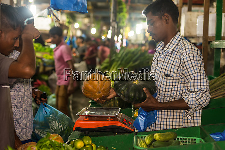 indoors fresh fruits vegetables and dry