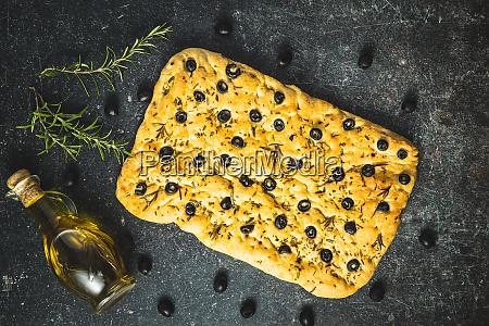homemade italian focaccia traditional italian pastries