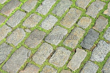 grass pavement