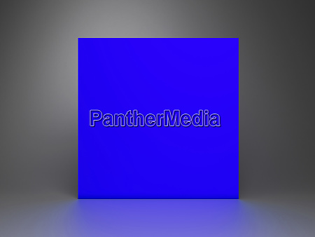 3d rendered abstract podium background