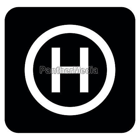 helicopter landing pad helicopter place icon
