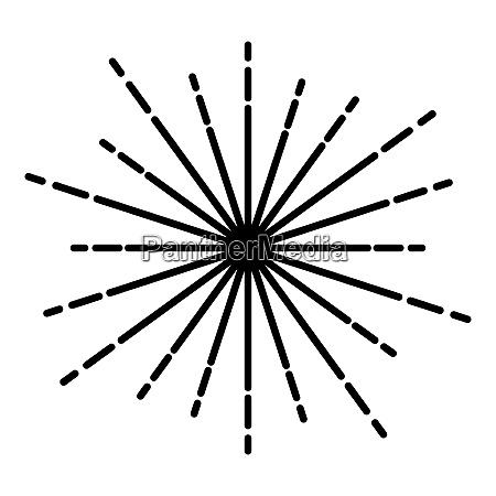 sunburst fireworks rays radial ray beam