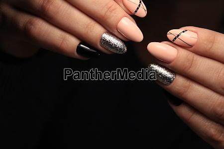 glamorous manicure nails
