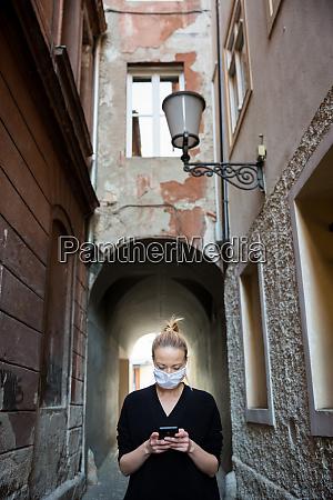 covid 19 pandemic coronavirus casual caucasian