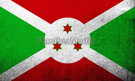 the republic of burundi national flag