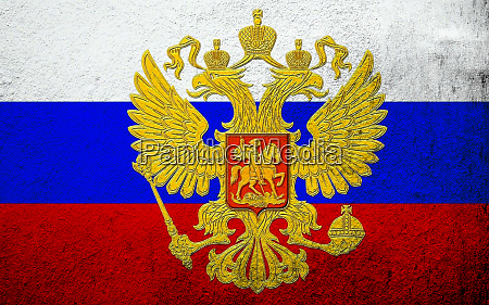 national flag of russian federation russia