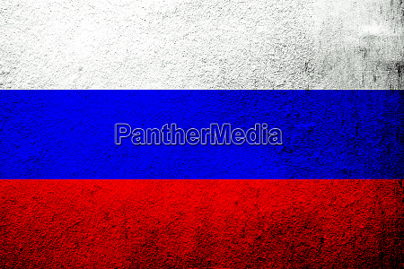 national flag of russian federation grunge
