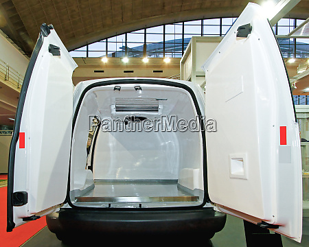 insulated fridge van