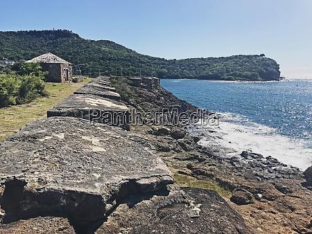 antigua coastline fort berkeley guard house