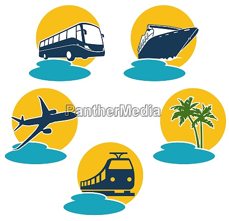 travel by plane bus boat and