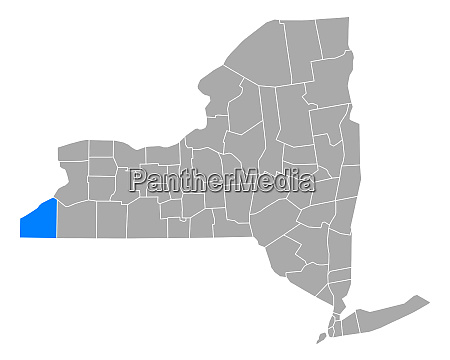 map of chautauqua in new york