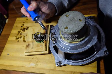 nickel cobalt speaker 25gd 26 repair