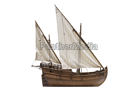 2 mast lateen rigged caravel known
