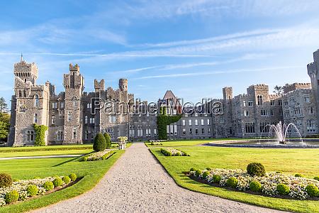 ashford castle a medieval castle built