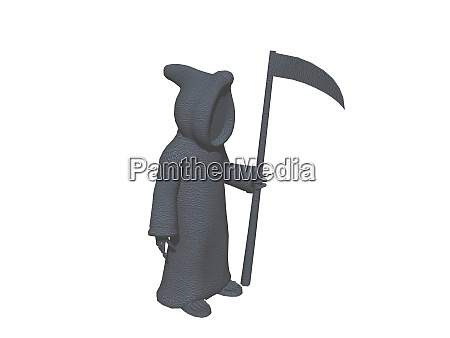 silhouette of the grim reaper as