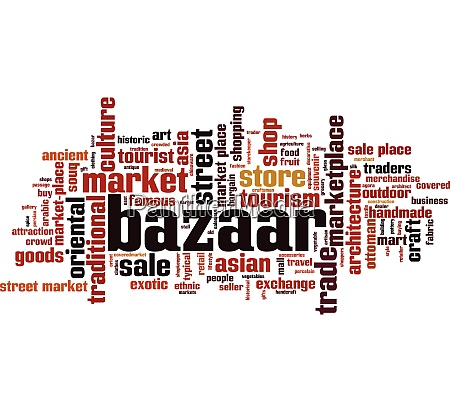 bazaar word cloud