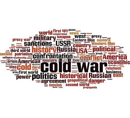 cold war word cloud