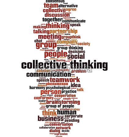 collective thinking word cloud