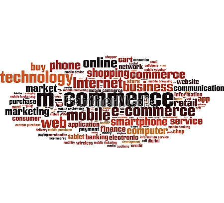 m commerce word cloud