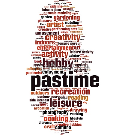 pastime word cloud