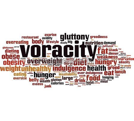 voracity word cloud