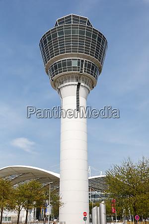 munich airport tower muenchen muc