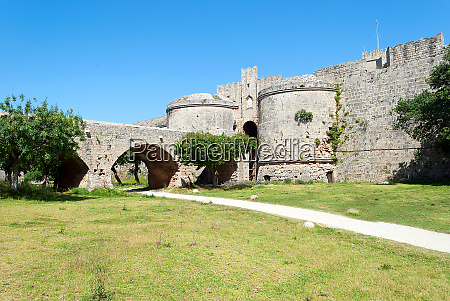 fortress in rhodes