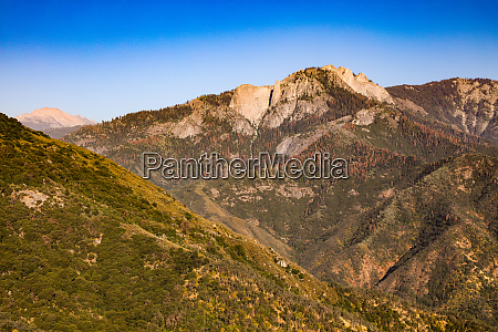 majestic sierra nevada mountains in california