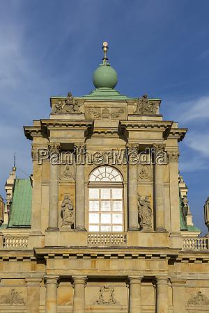 facade of 17th century baroque visitationist