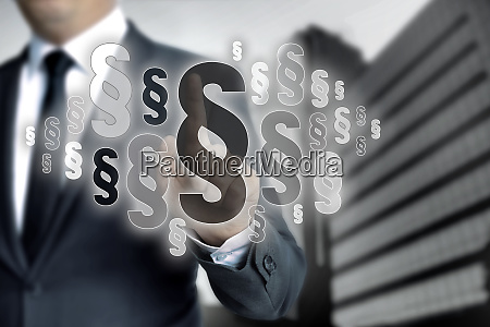 paragraphs are selected by businessman