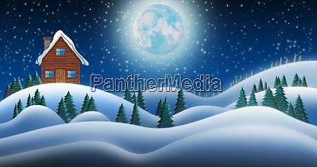 santa clause house at north pole