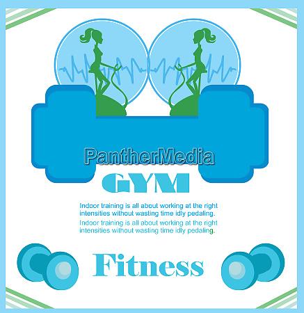 fitness club flyer