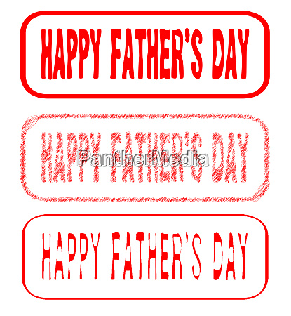 fathers day rubber stamp collection
