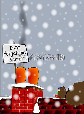 dont forget me santa
