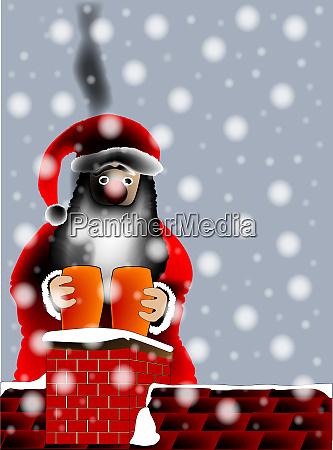 sooty santa