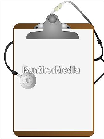 medical clipboard