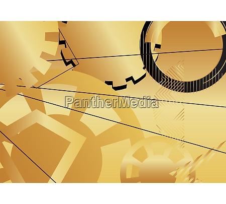 minimalist gold premium exclusive background