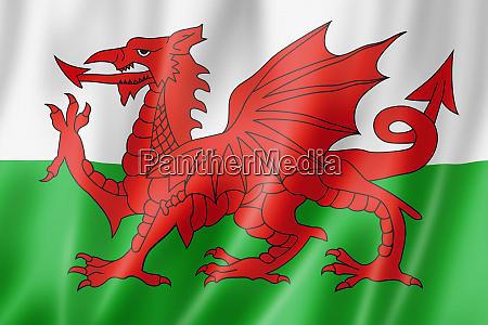 wales flag uk
