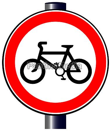 cyclist sign