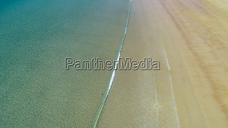 aerial view of five rocks beach