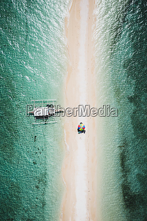 aerial view of talibon bohol philippines